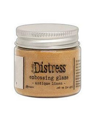 Tim Holtz Distress Embossing Glaze -jauhe, sävy Antique Linen