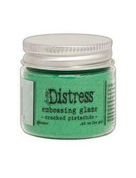 Tim Holtz Distress Embossing Glaze -jauhe, sävy Cracked Pistachio