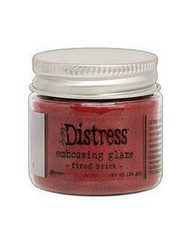 Tim Holtz Distress Embossing Glaze -jauhe, sävy Fired Brick