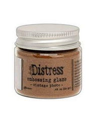 Tim Holtz Distress Embossing Glaze -jauhe, sävy Vintage Photo