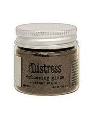 Tim Holtz Distress Embossing Glaze -jauhe, sävy Walnut Stain