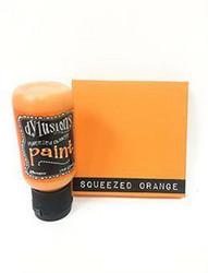 Dylusions Flip Cap -akryylimaali, sävy Squeezed Orange