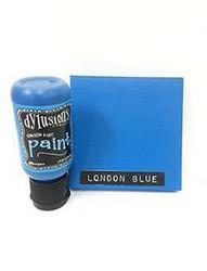 Dylusions Flip Cap -akryylimaali, sävy London Blue