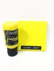 Dylusions Flip Cap -akryylimaali, sävy Lemon Zest