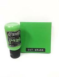 Dylusions Flip Cap -akryylimaali, sävy Cut Grass
