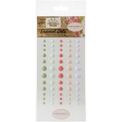 Carta Bella Enamel Dots -tarrat Farmhouse Market