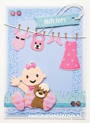 Marianne Design Eline's Babys -stanssisetti