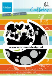 Marianne Design Dreaming Bear by Marleen -stanssisetti