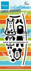 Marianne Design Clothesline by Marleen -stanssisetti