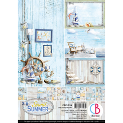 Ciao Bella Creative Pad paperipakkaus Sound of Summer