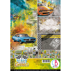 Ciao Bella Creative Pad paperipakkaus Start Your Engines