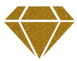 Aladine Izink Diamond -glittermaali, sävy 24 Carats Gold