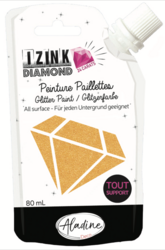Aladine Izink Diamond -glittermaali, sävy Orange