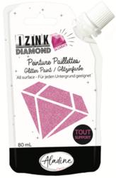Aladine Izink Diamond -glittermaali, sävy Pink