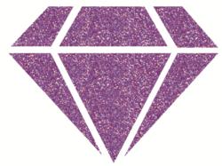 Aladine Izink Diamond -glittermaali, sävy Peach