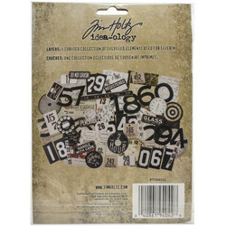 Tim Holtz Idea-Ology Layers -leikekuvat Urban, 65 kpl