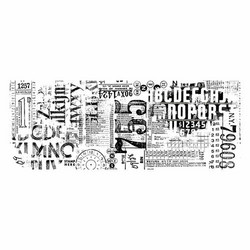 Tim Holtz Idea-Ology Collage paperipakkaus Typeset