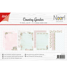 Joy! crafts Noor!Design paperipakkaus Country Garden