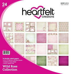 Heartfelt Creations Paperipakkaus Wild Rose