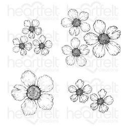 Heartfelt Creations Small Wild Rose -leimasinsetti