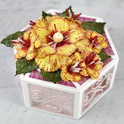 Heartfelt Creations Large Wild Rose -leimasinsetti