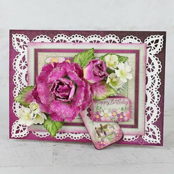 Heartfelt Creations Large Wild Rose -stanssisetti