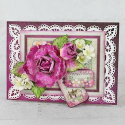 Heartfelt Creations Large Wild Rose -stanssisetti