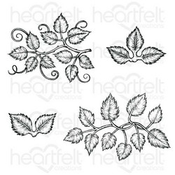 Heartfelt Creations Leafy Accents -leimasinsetti