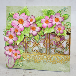 Heartfelt Creations Leafy Accents -stanssisetti