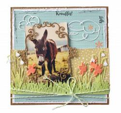 Joy! crafts Small Grass Border -stanssi