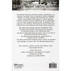 Tim Holtz Distress Cracked Leather -kartonki, 8.5