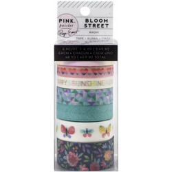 Pink Paisley Washi -teipit Bloom Street