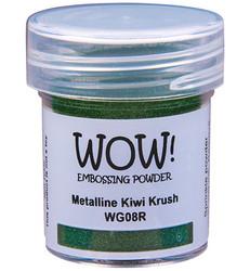 Wow! Metallines -kohojauhe, sävy Kiwi Krush, Regular (OM)