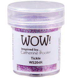 Wow! Embossing Glitters -kohojauhe, sävy Tickle by Catherine Pooler, Regular (T)