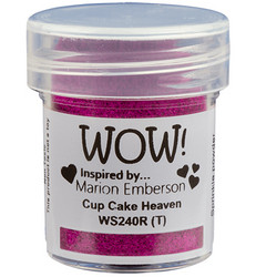 Wow! Embossing Glitters -kohojauhe, sävy Cup Cake Heaven by Marion Emberson, Regular (T)
