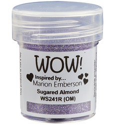 Wow! Embossing Glitters -kohojauhe, sävy Sugared Almond by Marion Emberson, Regular (OM)