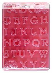 Stamperia Maxi Mould -muotti Alphabet Initials