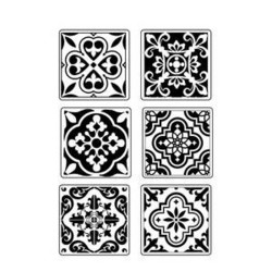 Stamperia Maxi Mould -muotti Azulejos
