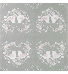 Servetti Turtle Doves Gray, 20 kpl