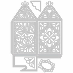 Sizzix Thinlits Elegant Favor Box -stanssisetti