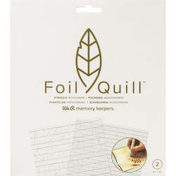 We R Memory Keepers Foil Quill Freestyle -sapluunasetti Monogram