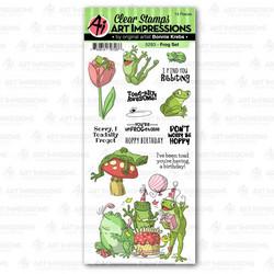 Art Impressions Frog -leimasinsetti