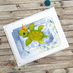 Elizabeth Craft Designs stanssisetti Sea Turtle