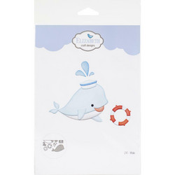 Elizabeth Craft Designs stanssisetti Whale