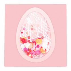 Sizzix Shaker Domes Egg/Balloon -shakerkuvut