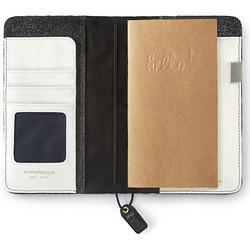 Color Crush Traveler's Notebook Planner, Black Velvet Stripe