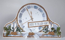 Marianne Design sapluuna Clock By Marleen