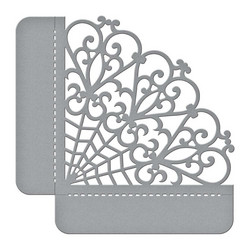 Spellbinders Woven Trellis Side Pocket -stanssi