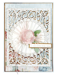 Spellbinders Tiered Rosettes -stanssisetti