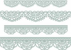 Sizzix Tim Holtz Thinlits stanssisetti Crochet